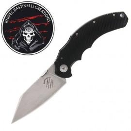 Nóż Bastinelli Creation Big Dragotac Black G10