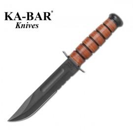 Nóż KA-BAR 1219 ARMY THE LEGEND - SERRATED