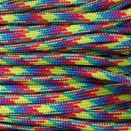 Paracord 550 kolor Rainbow