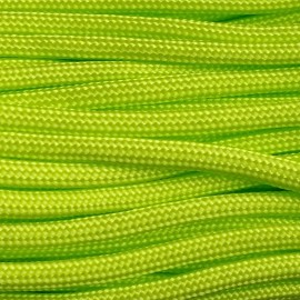 Paracord 550 kolor Fluor Green