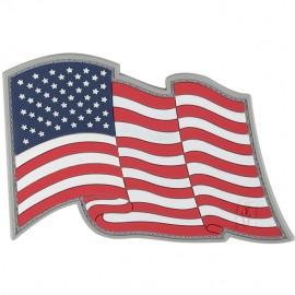 Naszywka Maxpedition Flaga USA powiewająca wer. FULL COLOR