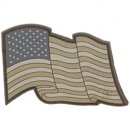 Naszywka Maxpedition Flaga USA powiewająca wer. ARID