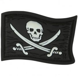 Flaga Czaszka Jolly Roger wer. GLOW