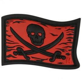 Naszywka Flaga Czaszka Jolly Roger wer. Full Color
