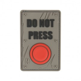 "Naszywka Maxpedition ""DO NOT PRESS"" wer. ARID"