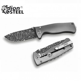 Nóż Lion Steel SR-2 DL DAMASCUS