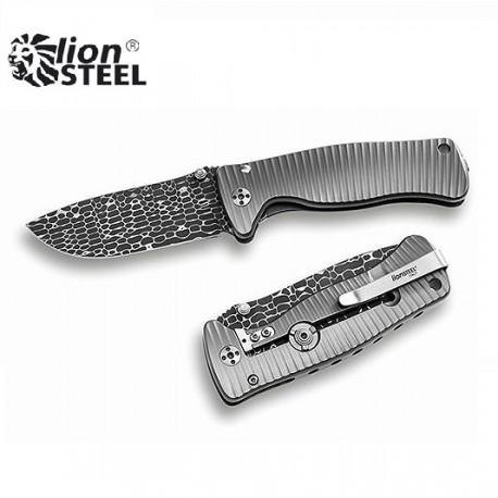 Nóż Lion Steel SR-2 DL DAMASCUS