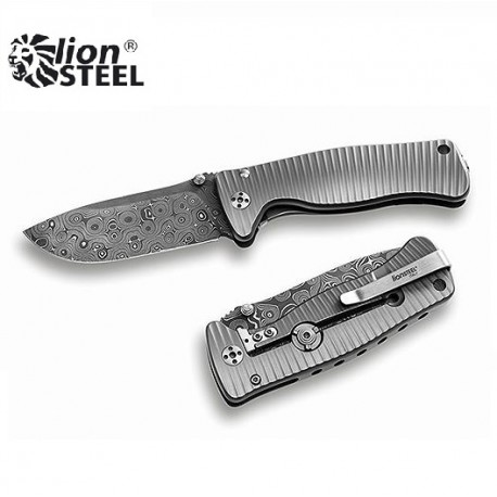 Nóż Lion Steel SR-2 DR DAMASCUS