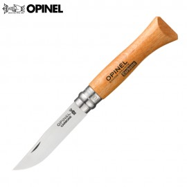 Nóż Opinel Carbon 6 Buk
