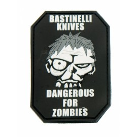 Naszywka Bastinelli Creation PVC DANGEROUS FOR ZOMBIES