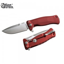 Nóż Lion Steel SR-11 Aluminum Red SR11A RS