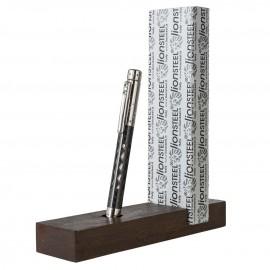 Długopis Lion Steel Nyala Carbon Fibre Grey Shine