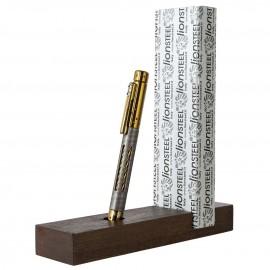 Długopis Lion Steel Nyala Damascus Bronze Shine