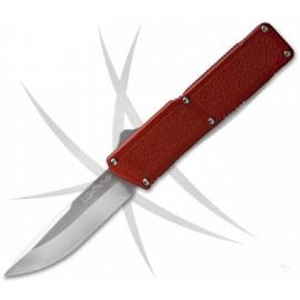 Nóż Lightning OTF Red - Satynowe Ostrze