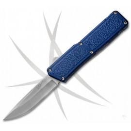Nóż Lightning OTF Blue - Satynowe Ostrze