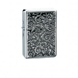 Zapalniczka benzynowa TASMAN Venetian, emblemat srebrny