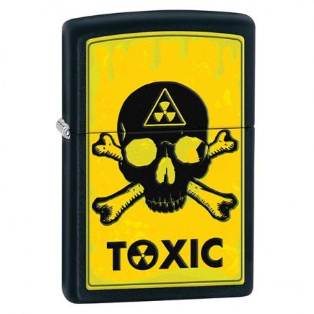 Zapalniczka Zippo Toxic, Black Matte