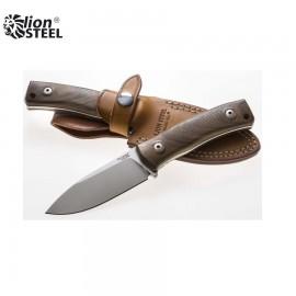 Nóż Lion Steel M4 WN Drewno Orzechowe