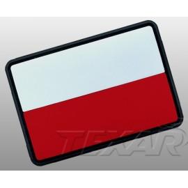 Emblemat Texar Flaga PL PVC roz. Mały