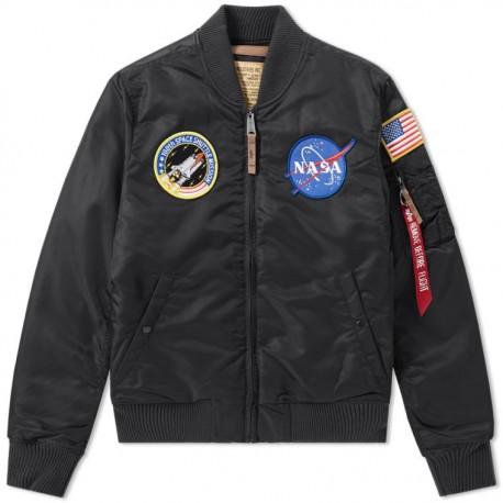 Kurtka Alpha Industries MA-1 VF NASA Black