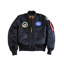 Kurtka Alpha Industries MA-1 VF NASA rep. Blue
