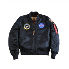 Kurtka Alpha Industries MA-1 VF NASA rep. Blue