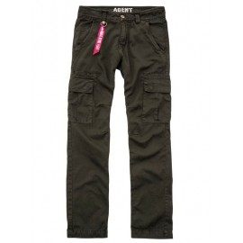 Spodnie Alpha Industries Agent 413 Black Olive