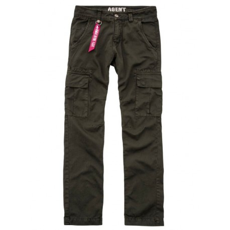 Spodnie Alpha Industries Agent 413 Black Olive