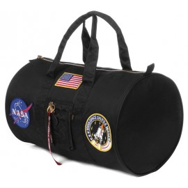 Torba Alpha Industries Day Cruiser Bag NASA 03 Czarna