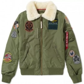 Kurtka Alpha Industries Injector III Patch Sage Green