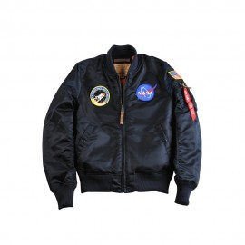 Kurtka damska Alpha Industries MA-1 VF NASA Wmn Replica Blue