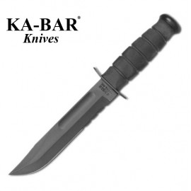 Nóż KA-BAR 1212 - Black Serrated