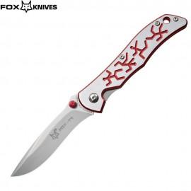 Nóż Fox Cutlery T1/2 RED Design by Terzuola