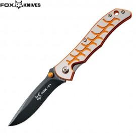 Nóż Fox Cutlery T1/1 Orange Design by Terzuola