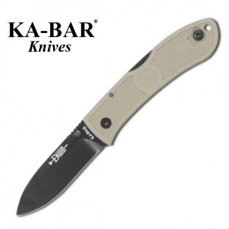 Nóż KA-BAR 4062 CB Dozier Coyote Brown