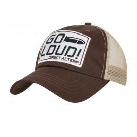 Czapka z daszkiem Direct Action trucker Go Loud Brązowa (CP-GLFC-CTN-BRW) H