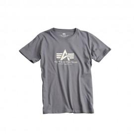 Koszulka Alpha Industries Basic Greyblack (100501-136)