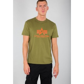 Koszulka Alpha Industries Basic khaki green (100501-440)