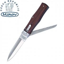 Nóż Mikov Predator 241-ND-2 Okładziny Drewniane, z Piłą