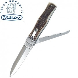 Nóż Mikov Predator 241-NP-2 Jeleni Róg, z Piłą
