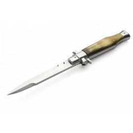 Nóż A.G.A. Campolin Black Widow - Róg Bawoła Brazylijskiego (LE-BW28B-H)