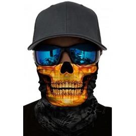 Wielofunkcyjny Komin M&G Company Gold Skull
