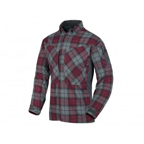 Koszula Helikon MBDU Flannel Ruby Plaid (KO-MBD-PO-P1)