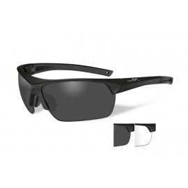 Okulary Wiley X GUARD Smoke/Clear Matte Black Frame (4004)