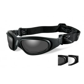 Okulary Wiley X SG-1 Smoke/Clear Matte Black Frame (71)