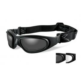 Okulary Wiley X SG-1 Smoke/Clear Matte Black Frame (71)