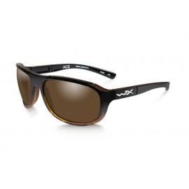 Okulary Wiley X ACE Polarized Bronze Gloss Tortoise Fade Frame (ACACE04)