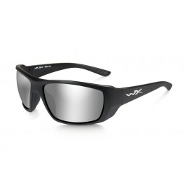 Okulary Wiley X KOBE Smoke Grey Sliver Flash Matte Black Frame (ACKOB02)