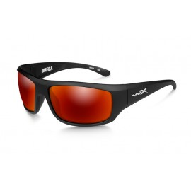 Okulary Wiley X OMEGA Polarized Crimson Mirror Matte Black Frame (ACOME05)