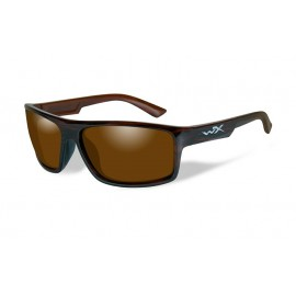 Okulary Wiley X PEAK Polarized Amber Gloss Layered Tortoise Frame (ACPEA04)